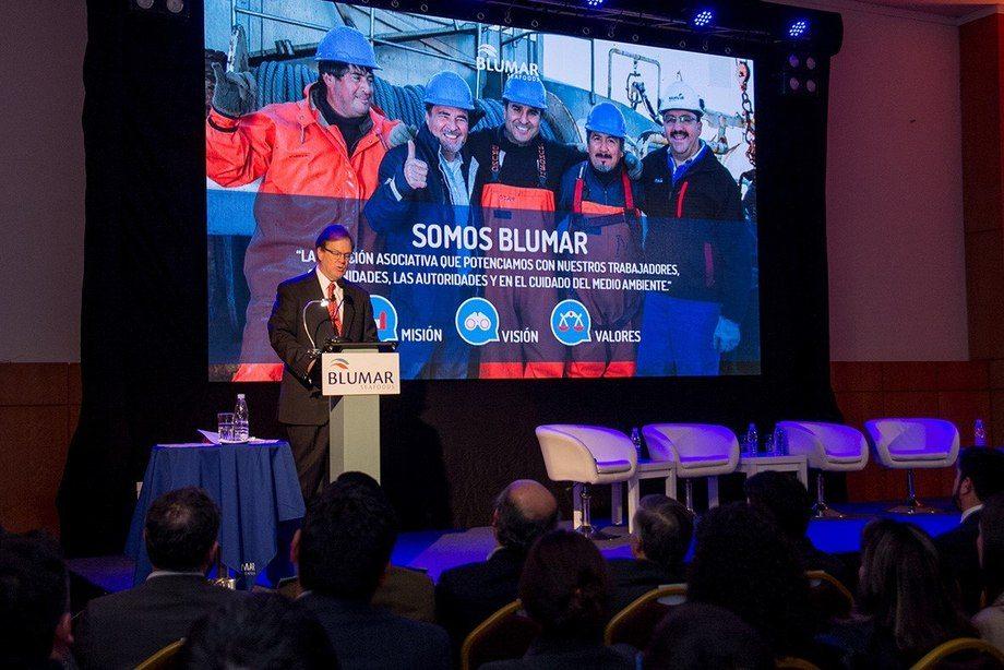 Gerardo Balbontín, gerente general de Blumar Seafoods. Foto: Blumar.