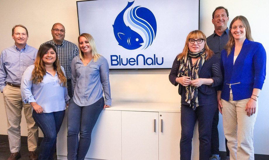The BlueNalu team this week announced they had raised $4.5m. Photo: BlueNalu