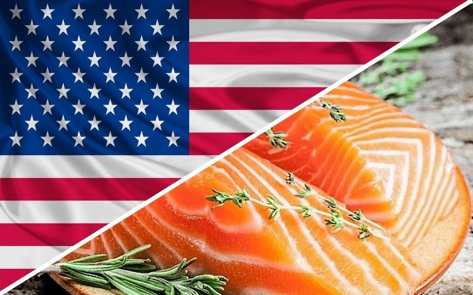 Imagen referencial de salmón chileno en EE.UU. Foto: Archivo Salmonexpert.