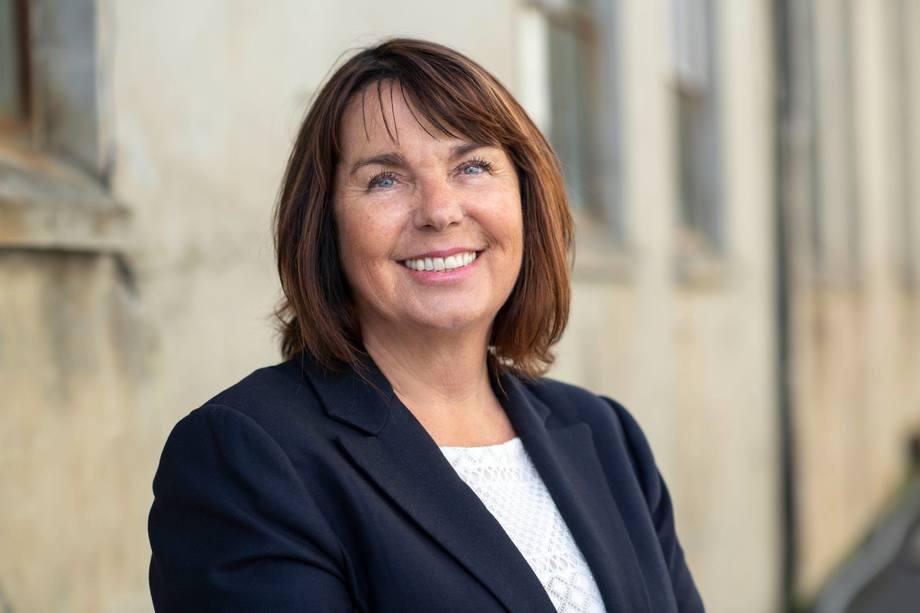 Bente Lund Jacobsen er styreleder i Brønnbåteiernes Forening og mener at det kan være flere smittekilder enn bare brønnbåt. Hun påpeker at vask-og desinfeksjonsrutinene er gode nok. Foto: Tony Hall.