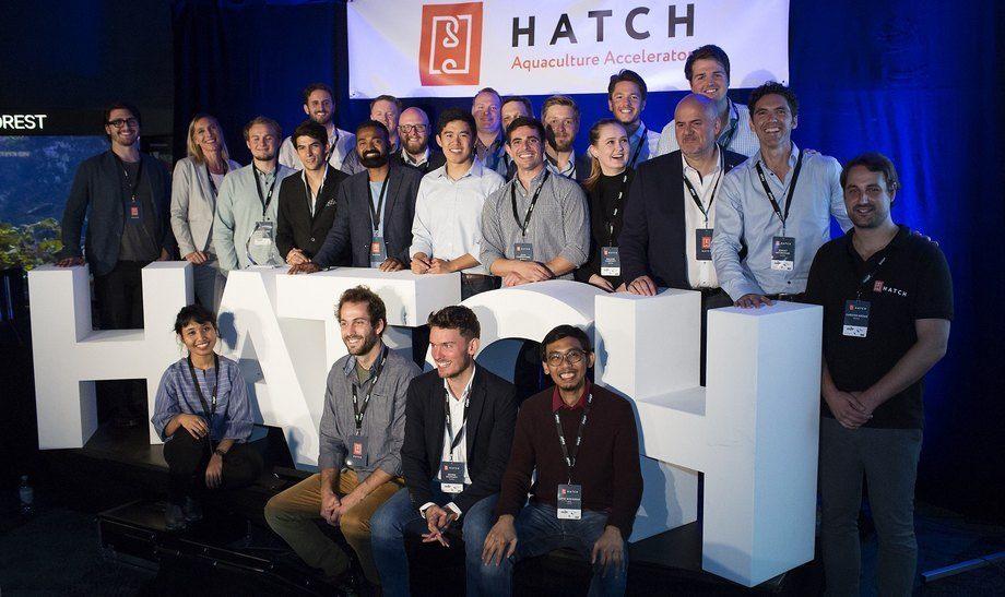 Entreprenører som deltok i det første Hatch-programmet i Bergen tidligere i år. Det andre akseleratorprogrammet skal foregå i den irske byen Cork neste måned. Foto: Hatch