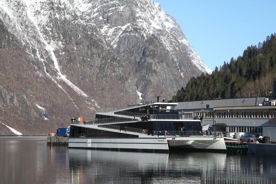 «Future of The Fjords» er Ship of the Year 2018. Foto: Brødrene Aa
