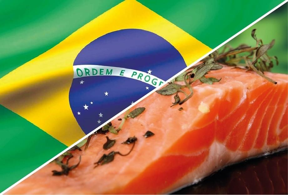Cuatro productos de salmón con etiqueta ASC están disponibles en las 125 tiendas de supermercados Swift de Brasil. Foto: Archivo Salmonexpert.