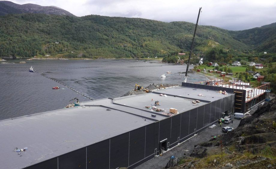 The waiting's ova: Salmobreed's facility at Salten in Norway is now complete and has started salmon egg production.