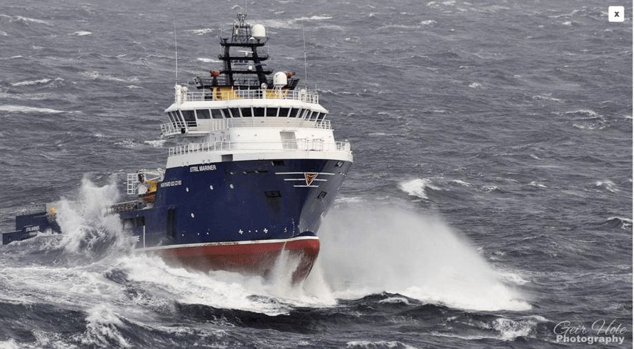 «Stril Mariner». Foto: Simon Møkster Shipping