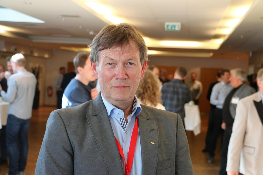 Ottar J. Aare er direktør i Hurtigbårforbundet. Foto: Vibeke Blich