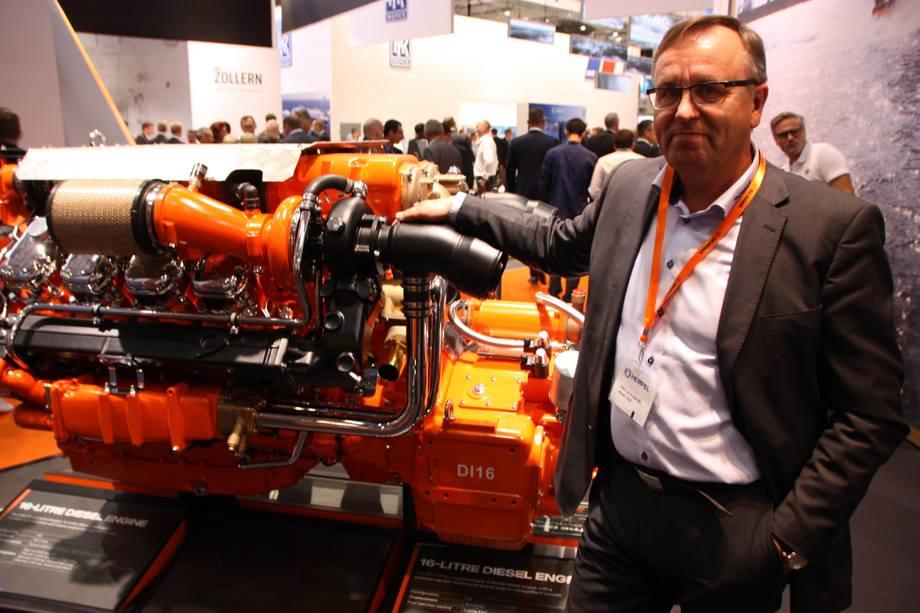 Odd Ivar Opsahl i Scania kan glede seg over å være markedsvinner i Norge. Foto: Sigbjørn Larsen