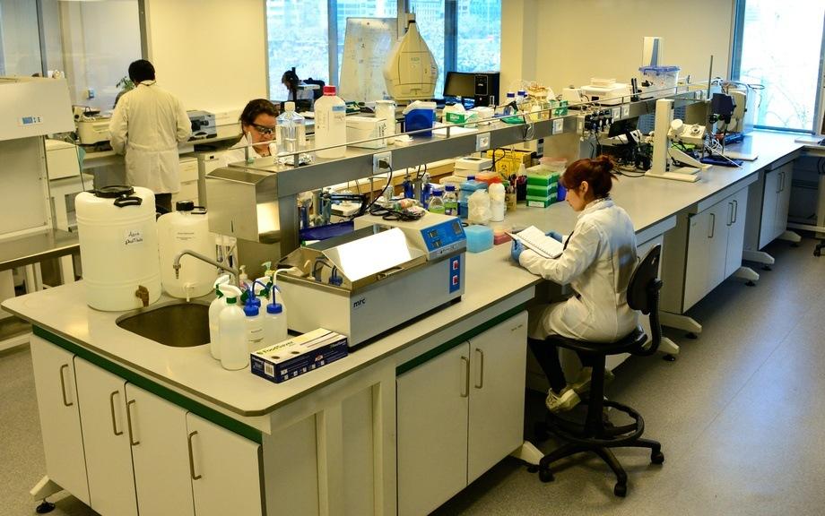 Laboratorio inaugurado por Fraunhofer en Chile. Foto: Fraunhofer Chile.