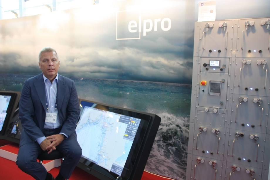 - Vi satser strategisk på en elektrisk fremtid til sjøs, sier admninistrerende direktør Pål Rune Johansen i Elpro. Foto: Sigbjørn Larsen.