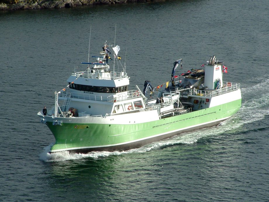 Brønnbåten «Øytind». Foto: Aas Mekaniske Verksted.