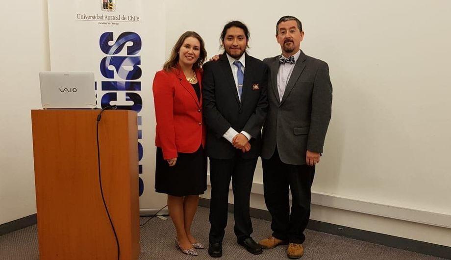 José Blanco Mendoza, estudiante de la RP3. Foto: INCAR.