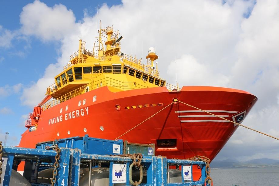Viking Energy. Foto: Vibeke Blich