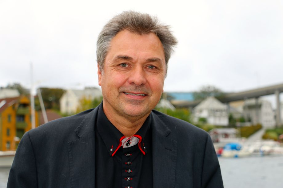 Sjøfartsdirektør Olav Akselsen. Foto: Andrea Bærland