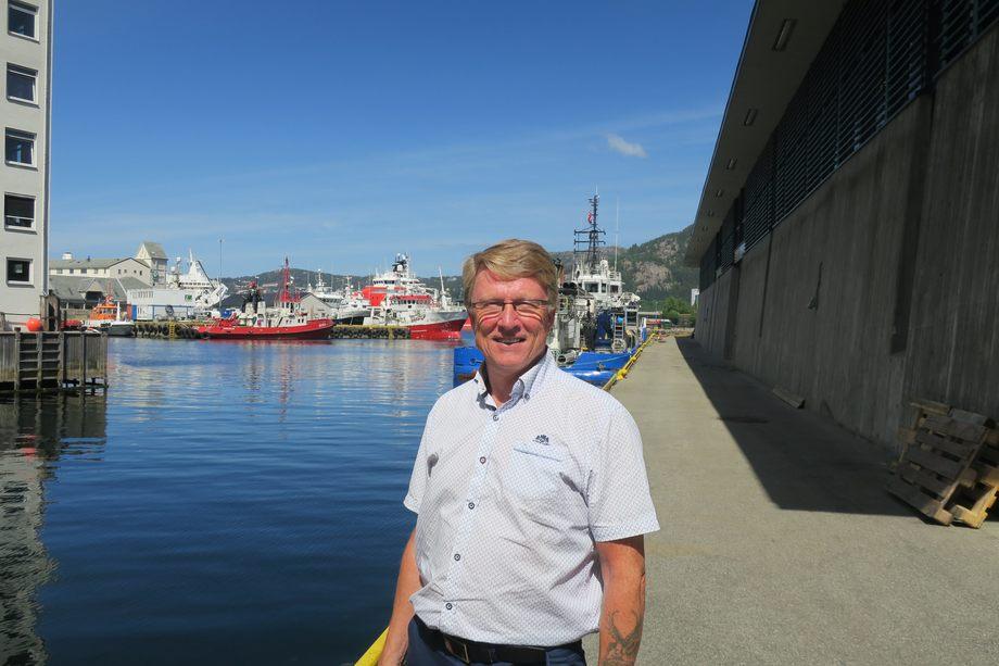 Styreleder i Kystrederiene, Oskar Grimstad, er spent på det kommende statsbudsjettet