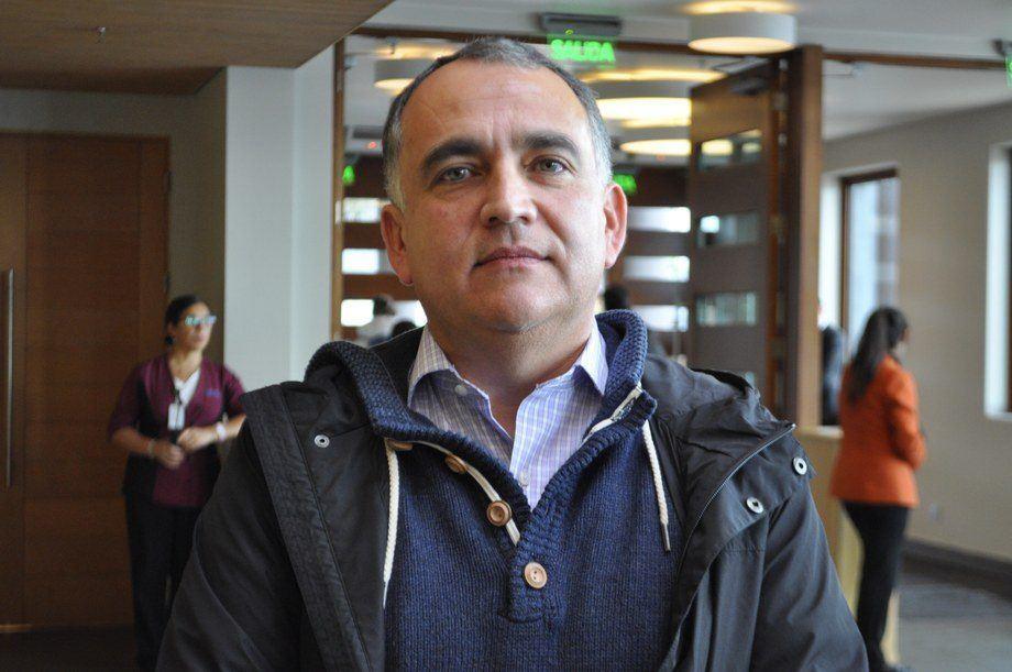 Gonzalo Romero, gerente del PEM Salmón Sustentable. Foto- Daniella Balin, Salmonexpert.