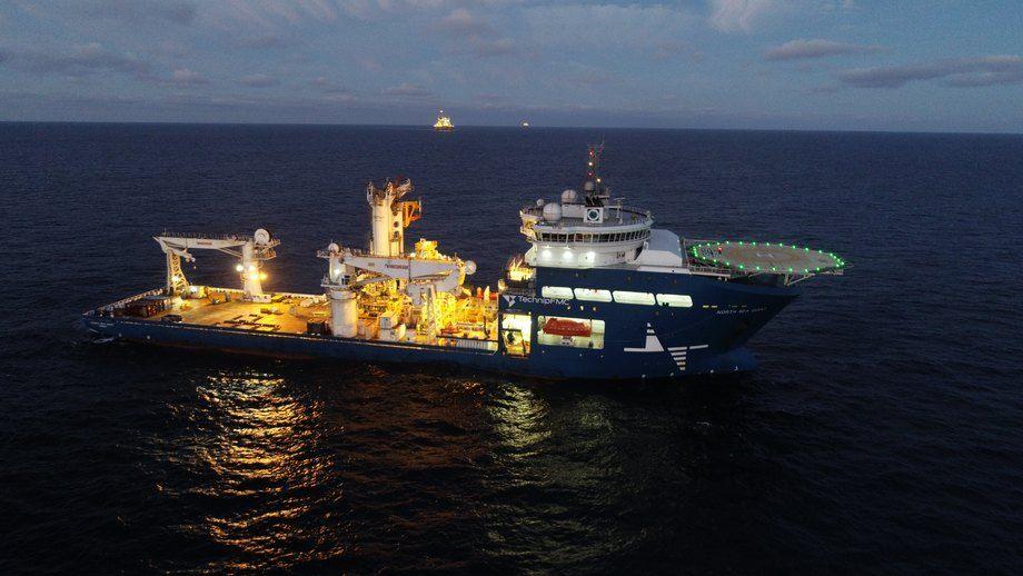 «North Sea Giant»  er ett av fartøyene som nå utstyres med MarESS. Foto: North Sea Shipping