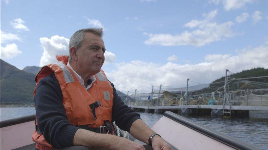 Former Marine Harvest Scotland media spokesman Steve Bracken contributes to tomorrow's Landward programme. Photo: BBC