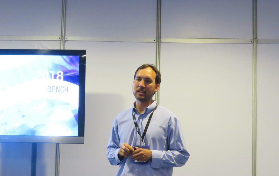 Daniel Woywood, gerente técnico de Aquabench. Foto: Francisco Soto, Salmonexpert.