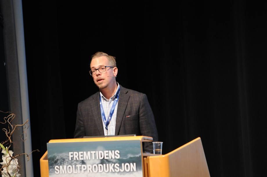 Carl Ivar Holmen er daglig leder i Rukanbaserte Salmofarms.