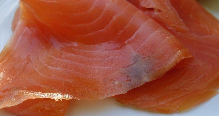 Smoked salmon. Irish smokers are being encouraged to adopt clean smoke technology.