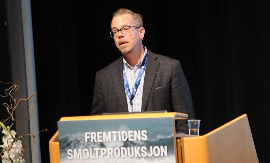 Carl Ivar Holmen is the general manager of Rjukan-based Salmofarms.