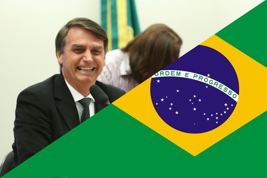 Jair Bolsonaro es el nuevo presidente de Brasil. Montaje Imagen: Said Kalil.