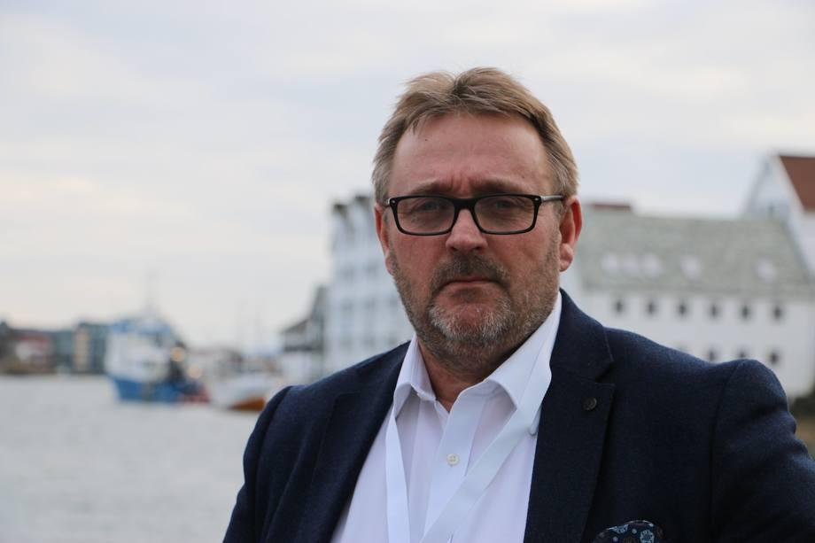Administrerende direktør Hans Sande i Norsk Sjøoffisersforbund. Foto: Helge Martin Markussen.