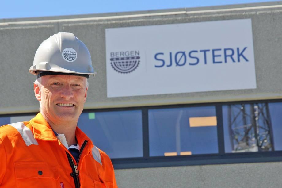 Torgeir Nærø, konsernsjef i Bergen Group ASA. Foto: Bergen Group ASA.