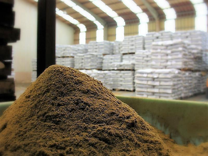 Imagen referencial de harina de pescado. Foto: Archivo Salmonexpert.