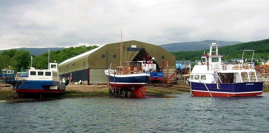 The Corpach Boatbuilding Company will give Gael Force capacity to build steel feed barges. Photo: Gael Force