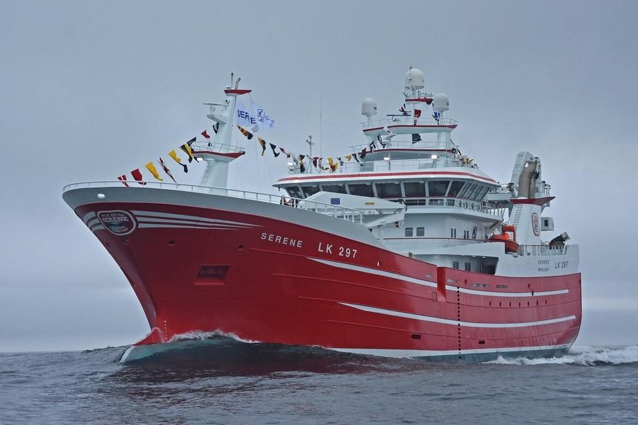«Serene» er den seneste leveransen fra Karstensens Skibsværft-