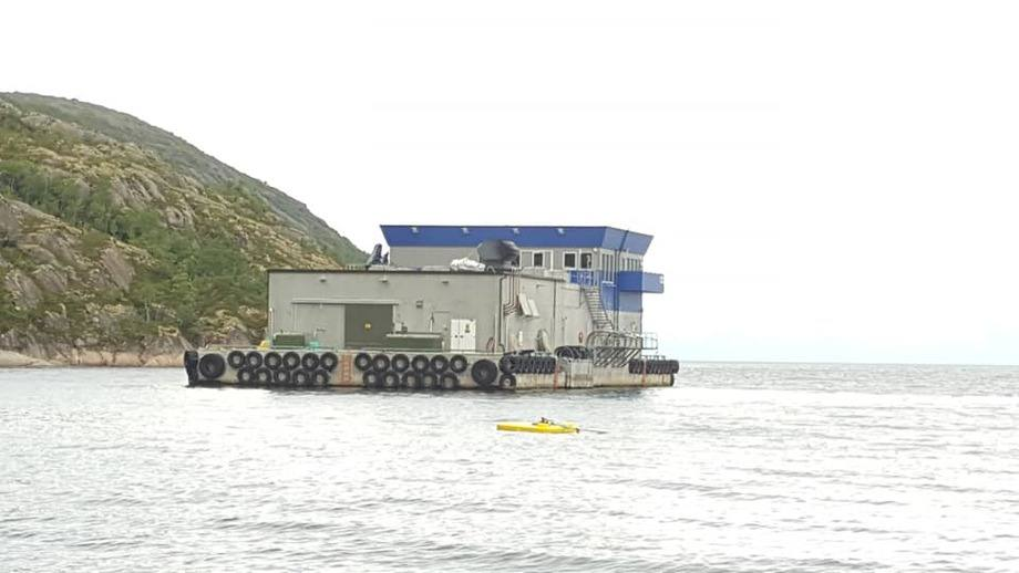 BetongflåteN av typenFarmBase 625 er nå overlevert til Cermaq.