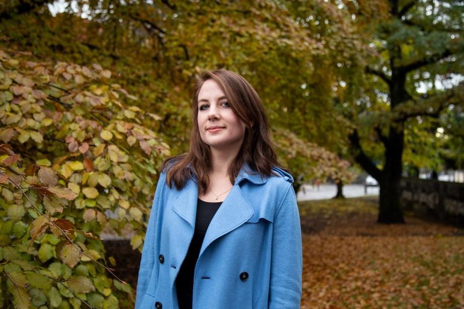 Kristina Furnes er ny global kommunikasjonssjef i Grieg Seafood. Foto: Ada Lea.