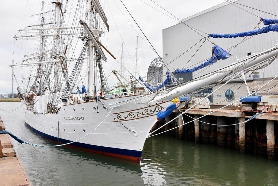 SS «Christian Radich» har fått service i Nederland