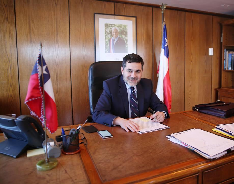 Eduardo Riquelme, subsecretario de Pesca y Acuicultura. Foto: Subpesca.