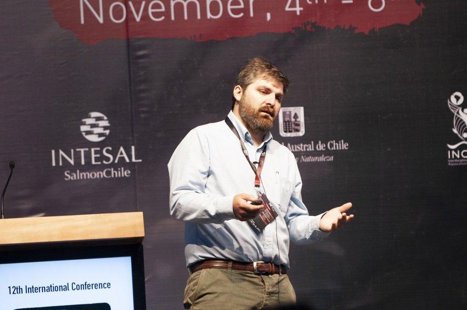 Pedro Ilardi Lazcano er forsker i det chilenske legemiddelselskapet Farmacologia en Aquacultura Veterinaria (FAV S.A.)