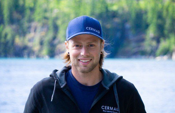 John Relyea-Voss will represent Cermaq Canada at the annual Canadian Farmed Salmon Seafood Policy conference. Photo: Twitter