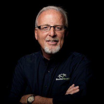 Bill Morris, co fundador y CEO de Blue Star Recyclers. Foto: ReCrea.