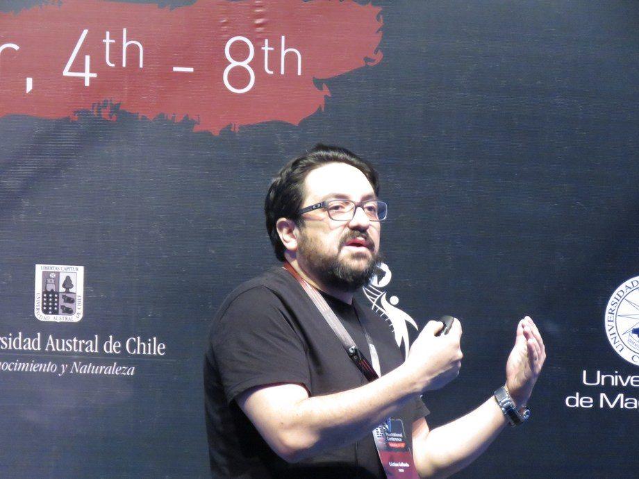 Dr. Cristian Gallardo-Escárate, investigador de la RP1 del Incar. Foto: Francisco Soto, Salmonexpert.