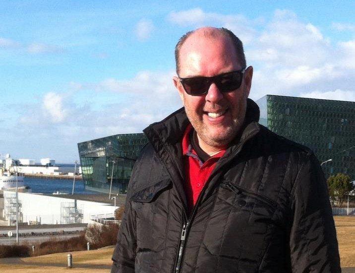 Helgi Sigurðsson slutter i Laxar. Foto: Privat.