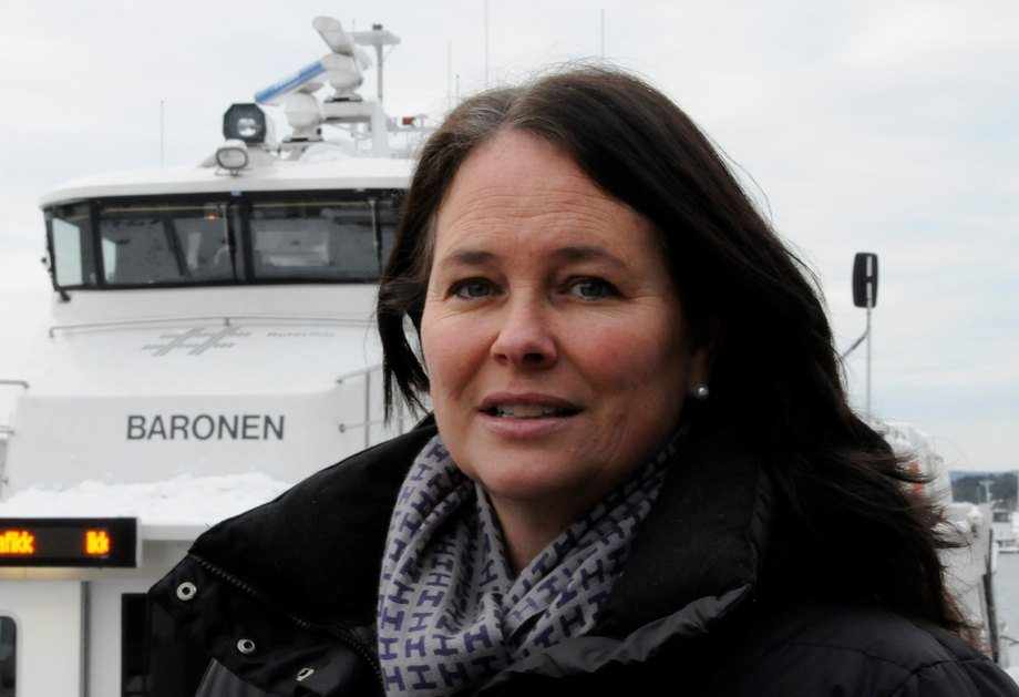 - Vi mener at Hurtigruten seiler ulovlig, sier Hege-Merethe Bengtsson. Foto DNMF.
