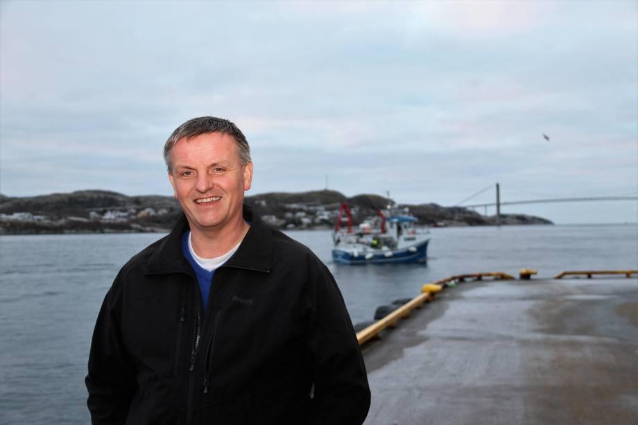 Asle Andersen er ny havnedirektør. Foto: Nord-Trøndelag Havn Rørvik IKS.