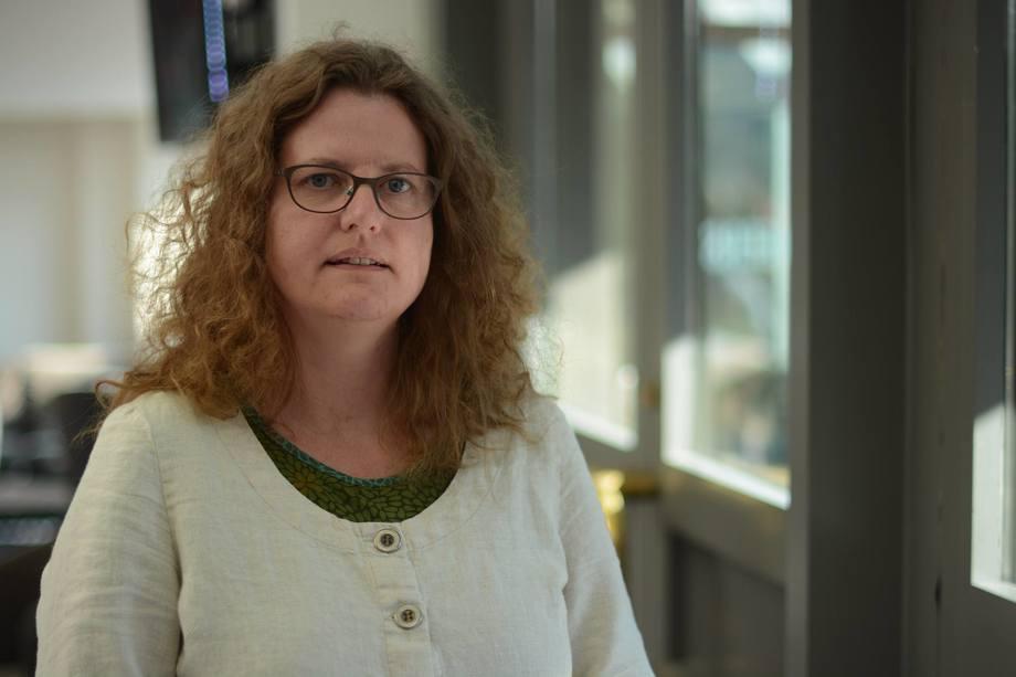 Barbara Vögele i Miljøpartiet De Grønne er sterkt kritisk til onsdagens vedtak i Tromsø kommune.  Foto: MDG.