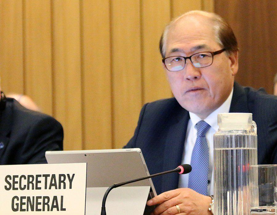 Kitack Lim fortsetter som generalsekretær for IMO. Foto: IMO