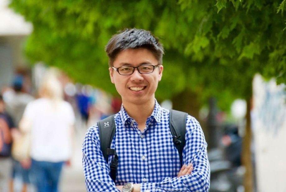 Ph.D.-kandidat, Yangyang Gong skal disputere fredag 7. desember. Foto: Nord Universitet.