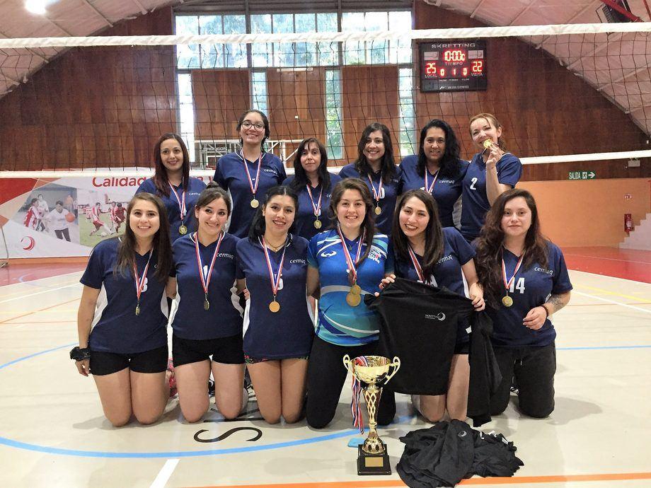 El equipo de Cermaq obtuvo el primer lugar del Campeonato en categoría damas. Foto: Skretting Chile.