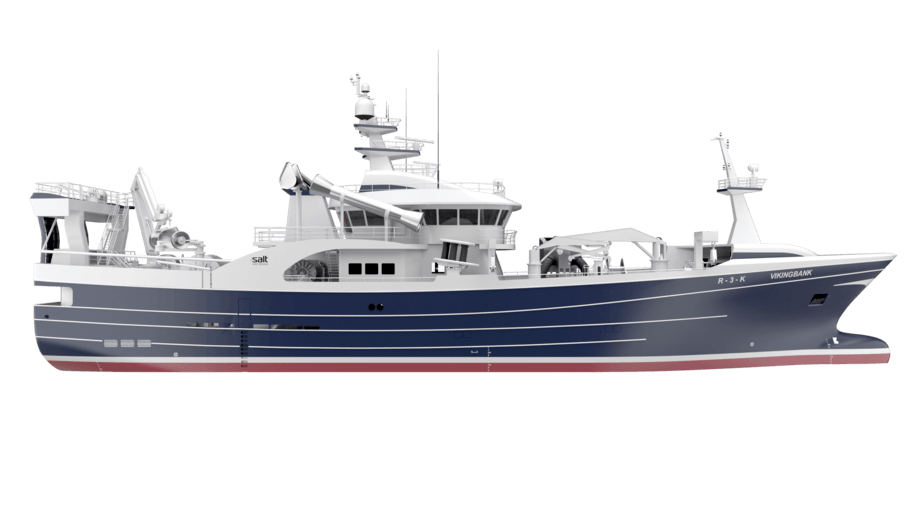 Salt Ship Design og Fitjar Mek samarbeider om det nye  fiskefartøyet til Cetus AS