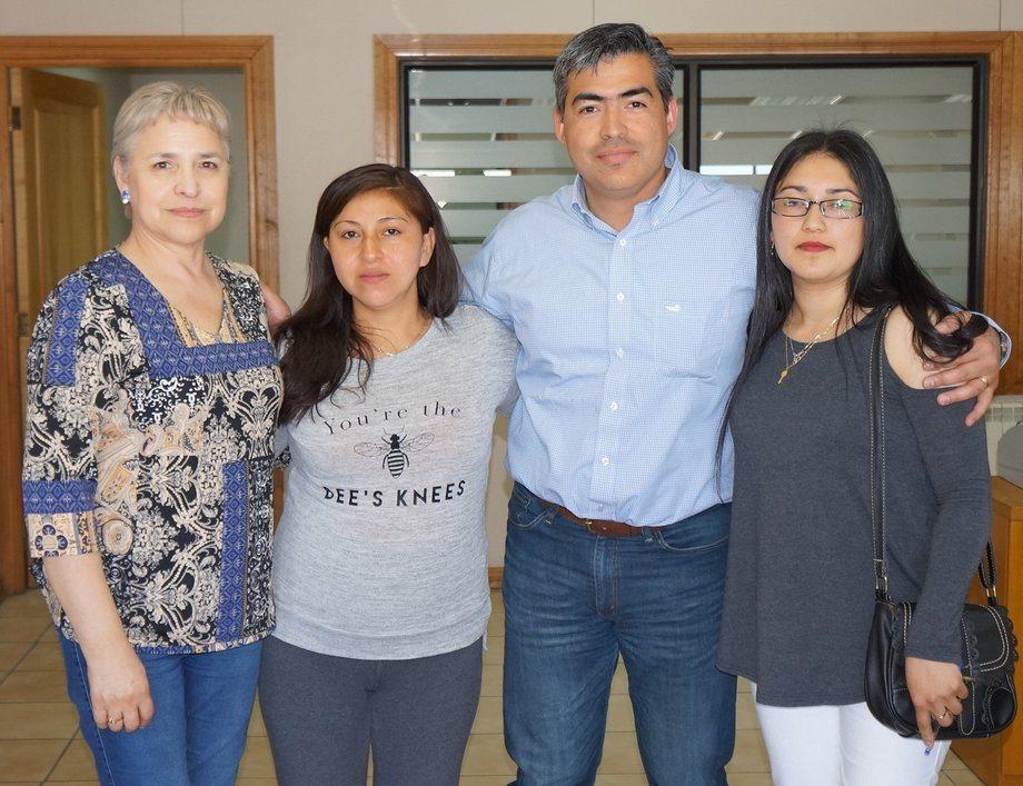 De Izquierda a derecha: Raquel Muñoz, Beatriz Quelin, Rodrigo Pinto, Priscila Paredes. Foto: Nova Austral.