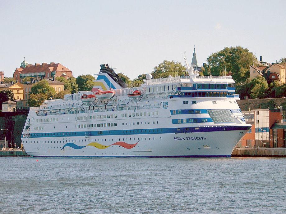 MS «Birka Princess» i Stockholm i 2005 Foto: Jonas Bergsten / Wikipedia