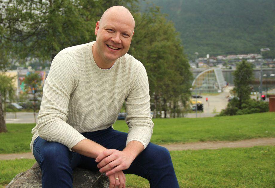 Fylkeskommunenes Akvakultursamarbeid FAKS Nasjonal Koordinator Jarle Magnar Bratbak-Pedersen. Foto Kine Moxness Sandnes.